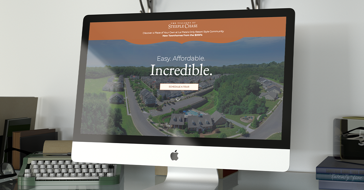 The Villages of SteepleChase Landing Page Image